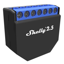 Shelly 2.5 - WiFi-operated...